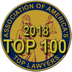 2018 Top 100 Association of American Trial Lawyers